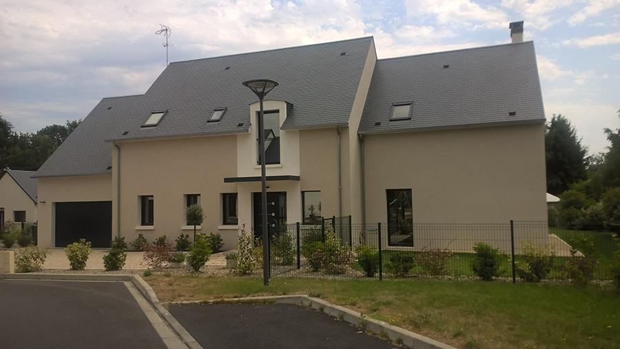Réalisation d'une maison contemporaine à Saint-Avertin 37550