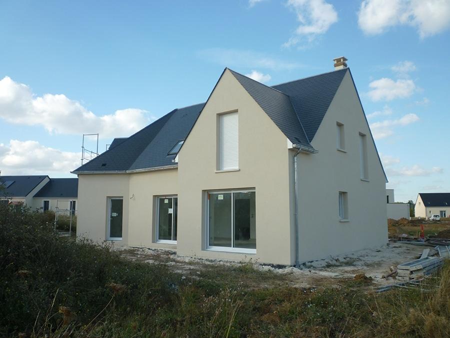 Réalisation d'une maison moderne à Saint-Avertin (37550)
