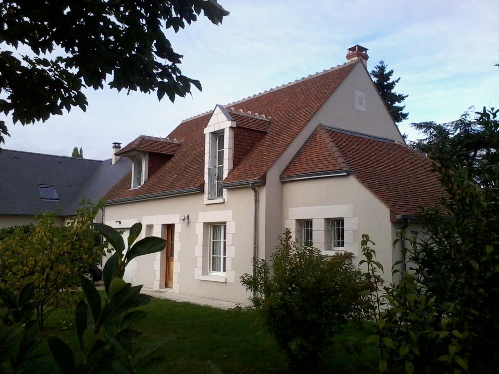 Réalisation d'une maison traditionnelle à Saint-Avertin 37550
