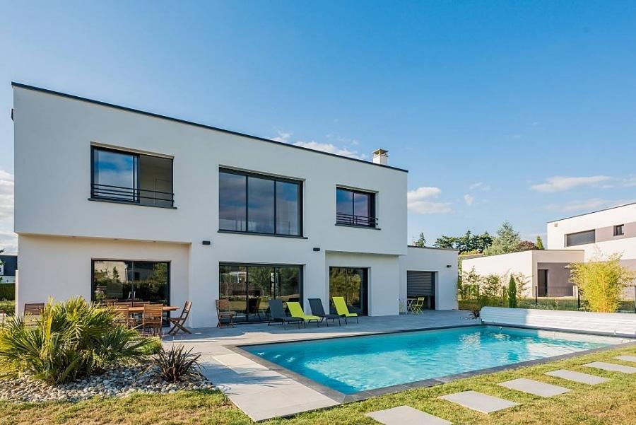 Construction maison individuelle contemporaine à Tours | Faubourg 70