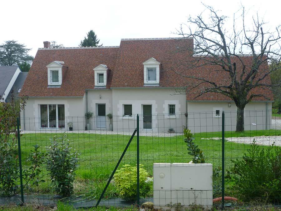 Réalisation d'une maison traditionnelle à Amboise 37400