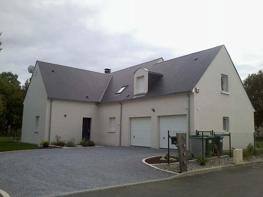 Réalisation d'une maison moderne à Saint-Avertin 37550