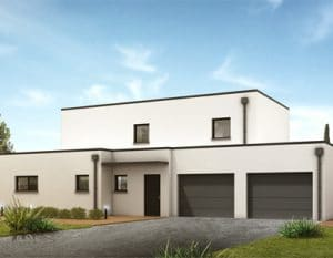 maison contemporaine chambray les tours