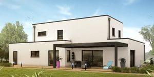 maison moderne ballan miré
